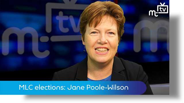 Preview of - MLC elections: Jane Poole-Wilson