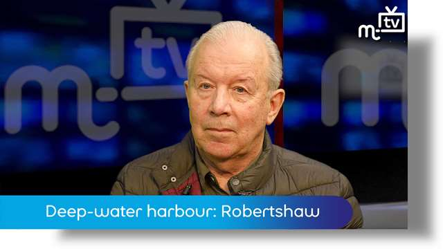 Preview of - Deep-water harbour: Chris Robertshaw