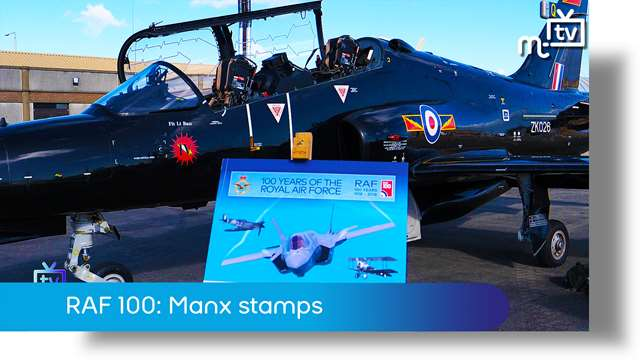Preview of - RAF 100 : Manx stamps