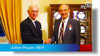 Julian Power: British Empire Medal