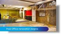 Old Douglas Post office renovation begins
