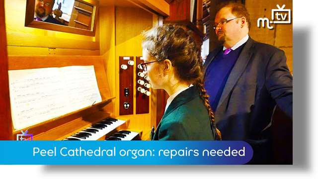Preview of - Peel Cathedral organ: repairs needed
