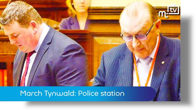 Preview of - March Tynwald: Castletown Police station