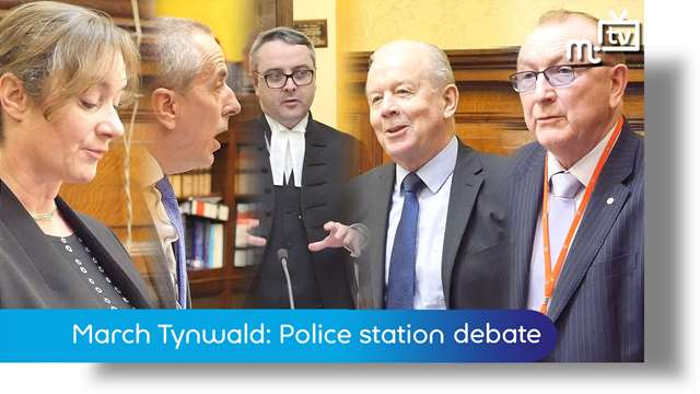 Preview of - Castletown Police station Tynwald debate
