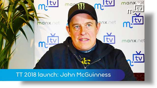Preview of - TT launch 2018: John McGuinness