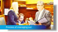 March Tynwald: process of managing out