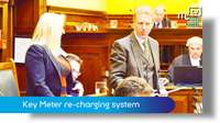 March Tynwald: Key Meter re-charging system