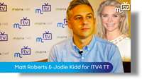 Matt Roberts & Jodie Kidd for ITV4 TT