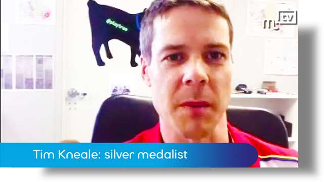 Preview of - Tim Kneale: silver medalist