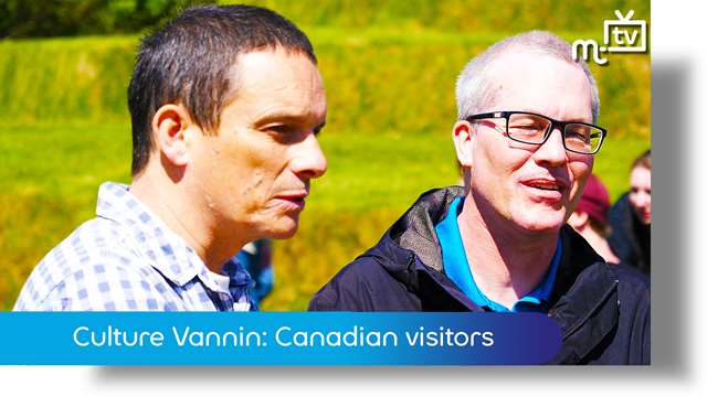 Preview of - Culture Vannin: Canadian visitors