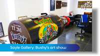 Sayle Gallery: Bushy's art show