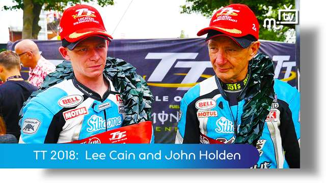 Preview of - TT 2018: John Holden and Lee Cain