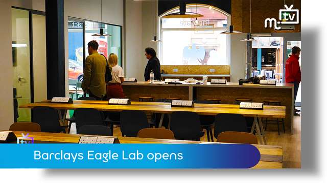 Preview of - Barclays Eagle Lab opens