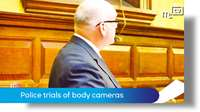 Tynwald June 2018: police trials of body cameras