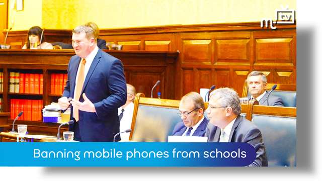 Preview of - Tynwald June 2018: banning mobile phones from schools