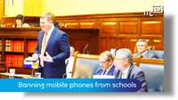 Tynwald June 2018: banning mobile phones from schools
