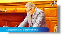 Tynwald June 2018: education SAVE programme