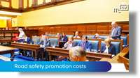 Tynwald June 2018: road safety promotion costs