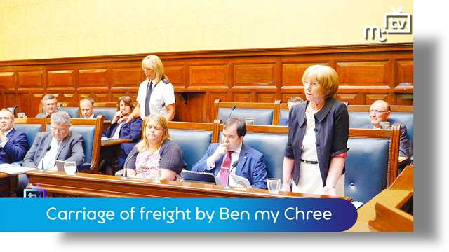 Preview of - Tynwald June 2018: carriage of freight by Ben my Chree