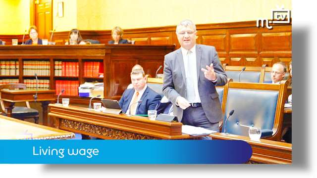 Preview of - Tynwald June 2018: living wage