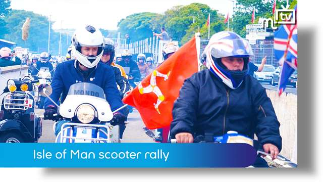 Preview of - Isle of Man scooter rally