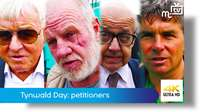 Tynwald Day: petitioners