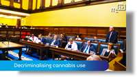 Q20: Decriminalising cannabis use