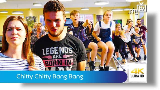 Preview of - Chitty Chitty Bang Bang rehearsal