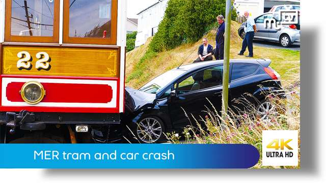 Preview of - MER tram and car crash