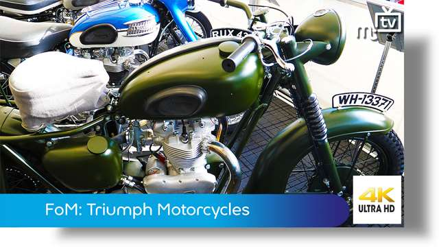Preview of - Festival of Motorcycling: Triumph