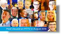 Most viewed on MTTV in August 2018