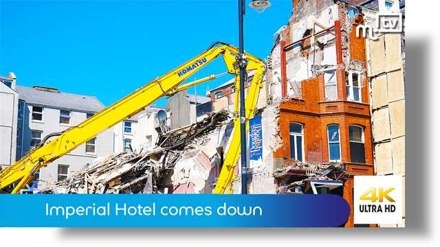 Preview of - Imperial Hotel comes down