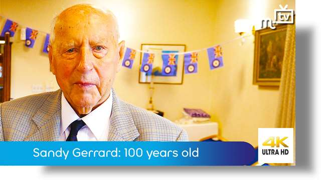 Preview of - Sandy Gerrard: 100 years old