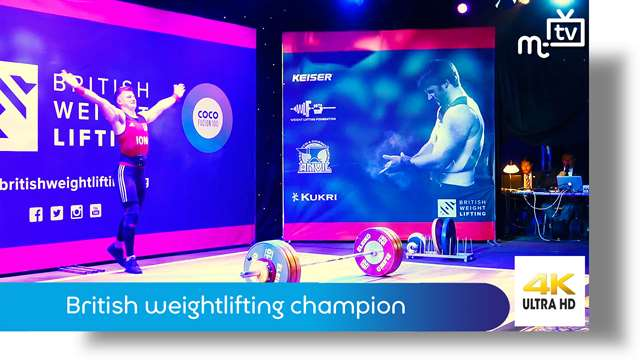 Preview of - British weightlifting champion