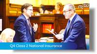 Tynwald Oct 18: Q4 Class 2 National Insurance