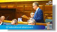 Tynwald Oct 18: Q7 educational attainment