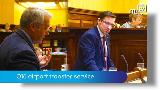 Preview of - Tynwald Oct 18: Q16 airport transfer service