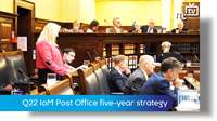 Tynwald Oct 18: Q22 IoM Post Office five-year strategy
