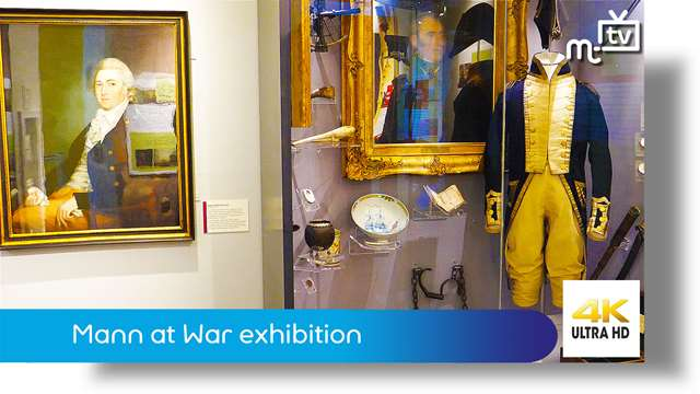 Preview of - Mann at War exhibition: Manx Museum