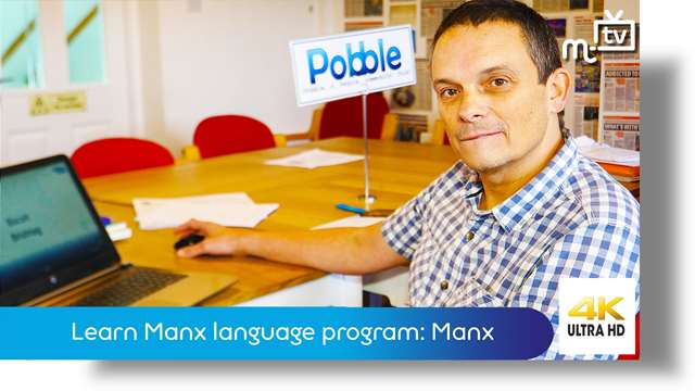 Preview of - Learn Manx language program: Manx version