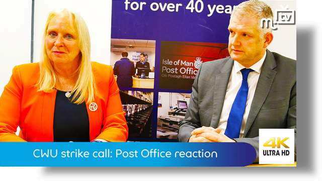 Preview of - CWU strike call: Post Office reaction