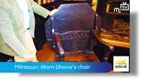 Milntown: Illiam Dhone's chair
