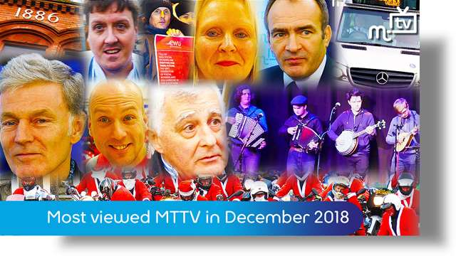 Preview of - Most viewed MTTV on manxnet: December 2018