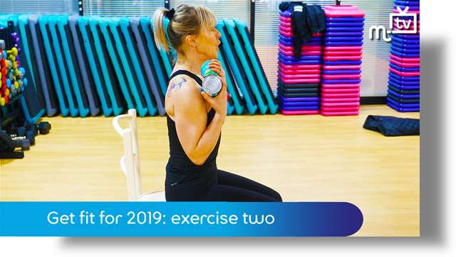 Preview of - Get fit for 2019: exercise two