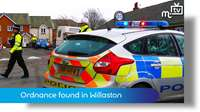 Ordnance found in Willaston