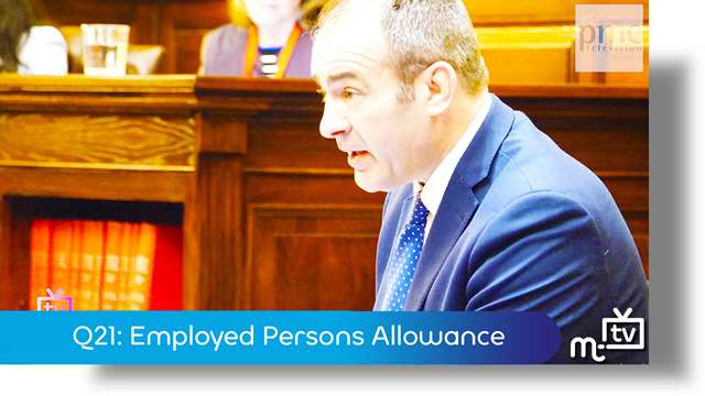 Preview of - Q21: Employed Persons Allowance