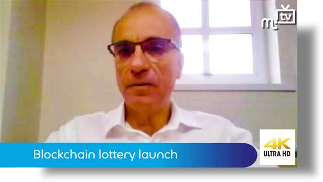 Preview of - Blockchain lottery launch