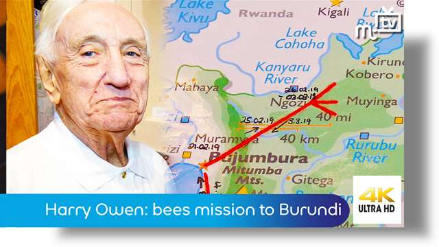 Preview of - Harry Owen: bees mission to Burundi