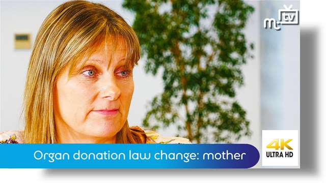 Preview of - Organ donation law change: a mother's story