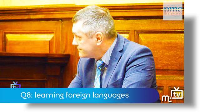 Preview of - Q8: learning foreign languages